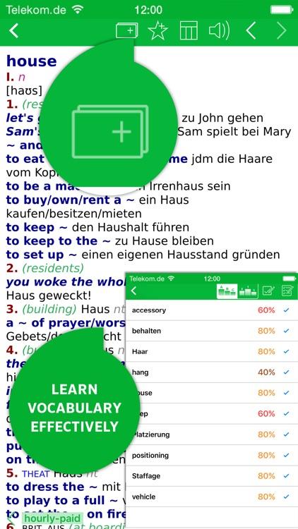 Dictionary German - English PREMIUM by PONS screenshot-4