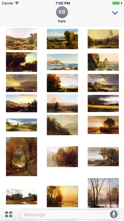 William Hart Artworks Stickers