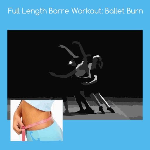 Full length barre workout ballet burn