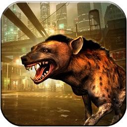 Grand Hyena Simulator 3D : City Rampage 2017