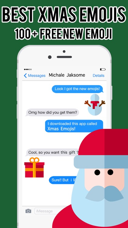 Xmas Emojis - Christmas Emoji Stickers Messenger
