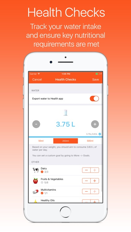 ProTracker Plus Weight, Calorie & Exercise Tracker screenshot-3