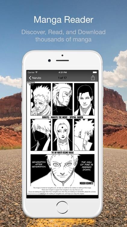 Manga Reader - Offline Manga Reader screenshot-4