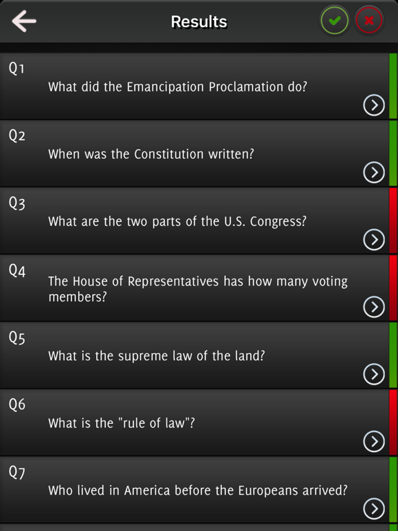 US citizenship 2017 - All The Questions screenshot 7