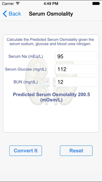 Medical Calculators Pediatrics screenshot-3