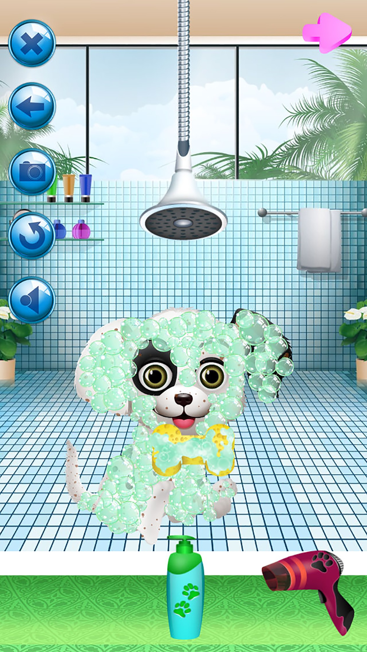 Puppy Spa - Kids Animal Makeover Games Screenshot