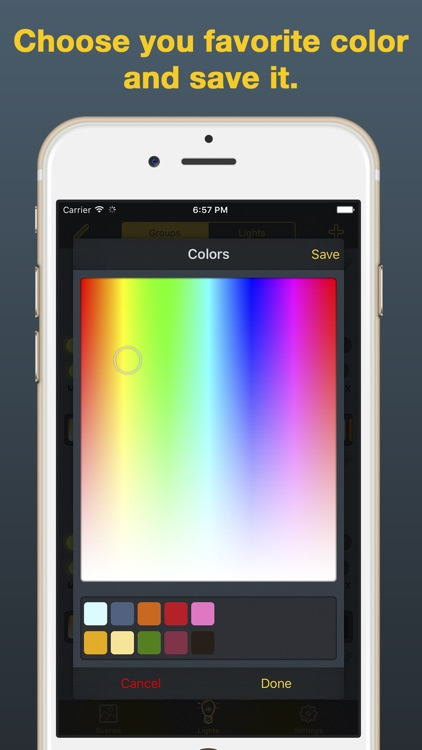iHue for Philips Hue - easy control of light. screenshot-4