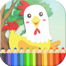 Activities of Animals, Coloring Book for Kids