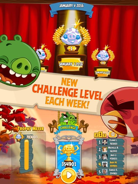 Angry Birds Seasons HD screenshot-3