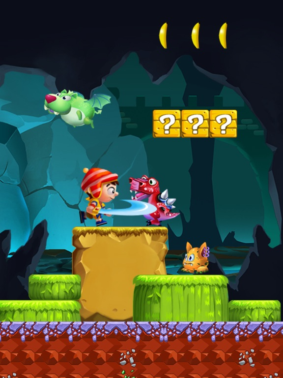 Jungle Adventure Story - Super Run World screenshot 6