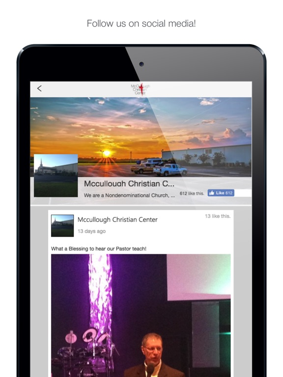 iPad Image of McCullough Christian Center