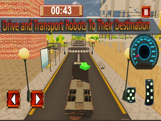 X Ray Robot Transport Semi Truck Parking Simulator | App