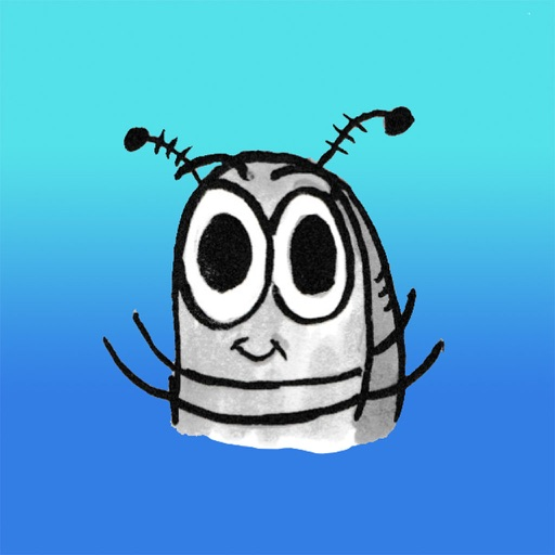 Sammy the Pillbug Stickers Lite