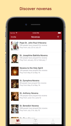 Pray The Catholic Novena App On The App Store - How to creat an invoice catholic store online