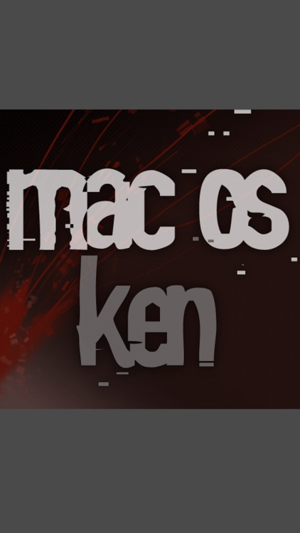 Mac OS Ken App