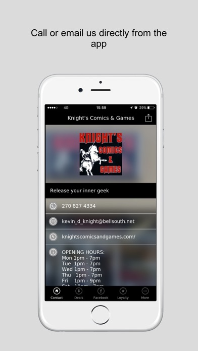 Knight's Comics & Games screenshot four