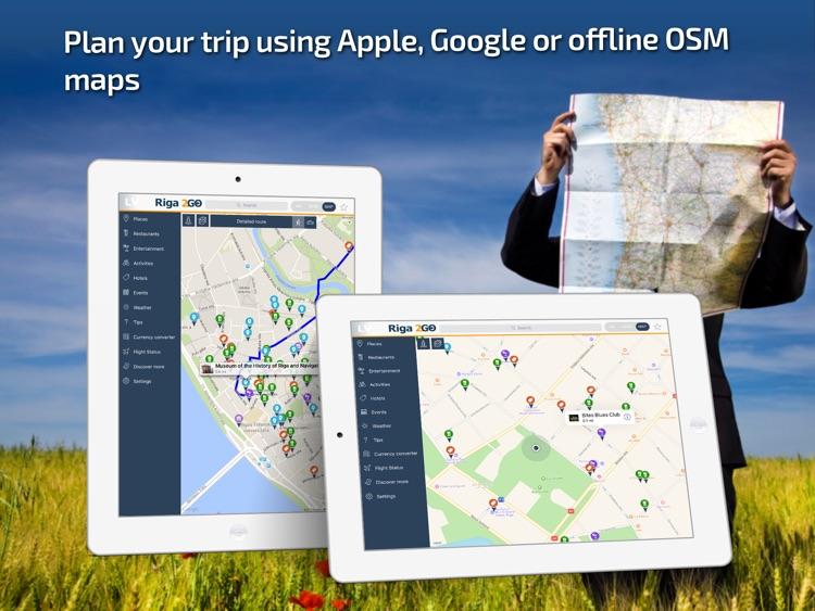 Riga Travel Guide & offline city maps screenshot-3