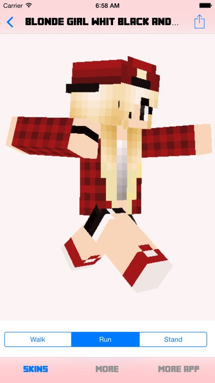Pro Girl Skins for Minecraft PE (Pocket Edition) screenshot-4