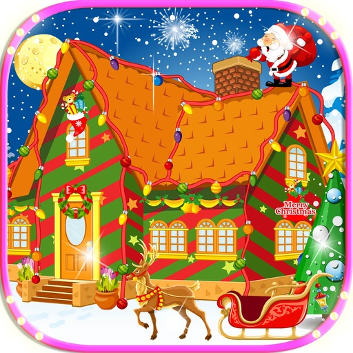 Christmas House Decoration - Free Girly Games