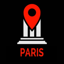 Paris Travel Guide Monument Tracker - Offline Map