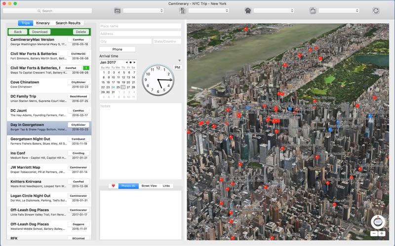 Camtinerary скриншот программы 3