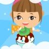 艾米小女孩做冰淇淋小游戏