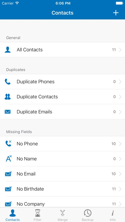 Contacts Cleaner - Easy Backup & Contact Manager screenshot-0