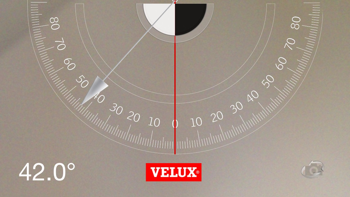 VELUX Roof Pitch Screenshot