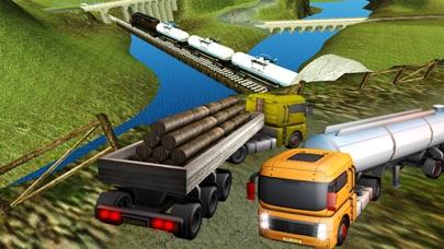 重い貨物輸送機:大型トラック運転3Dのおすすめ画像4