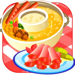 Beauty Hot Pot Shop-Fun Cooking Game