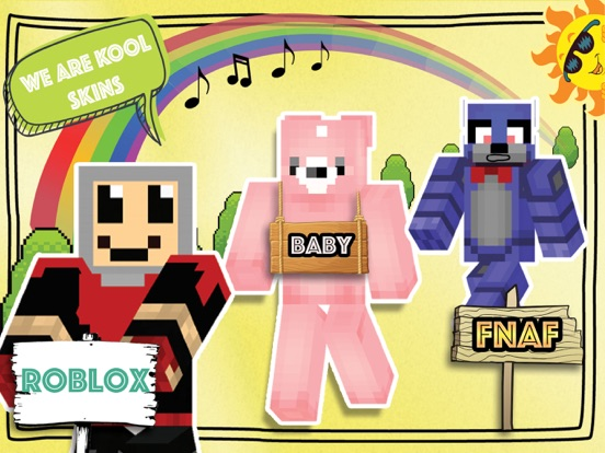 FNAF Roblox and Baby Skins for Minecraft PE | App Price Drops