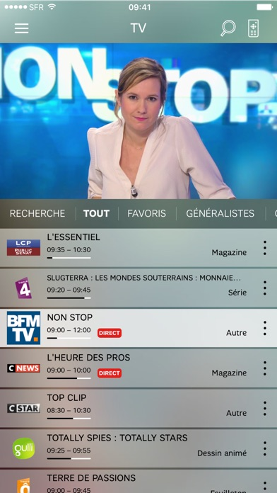 download SFR TV apps 2