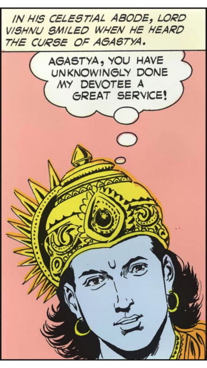 Tales of Vishnu - Amar Chitra Katha Comics screenshot-3