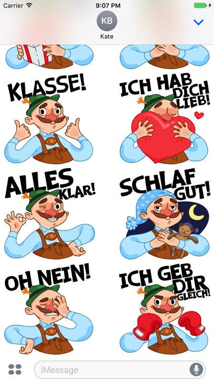 Typisch Deutsch — Stickers by DeutschEffekt