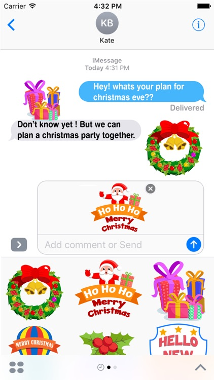 Christmas Celebration Stickers Pack screenshot-2