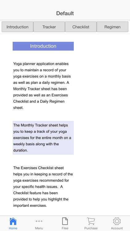 Yoga Planner screenshot-4