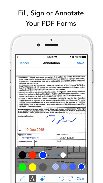 Instant Scanner Pro: Scan & Annotate PDF Documents screenshot-1