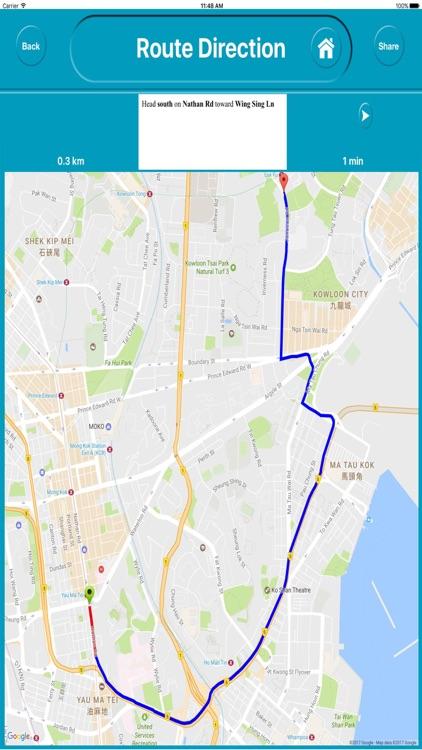 Hong Kong Offline City Maps Navigation screenshot-4