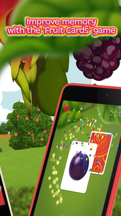 Moona Puzzles Fruits learning games for toddlers screenshot-4