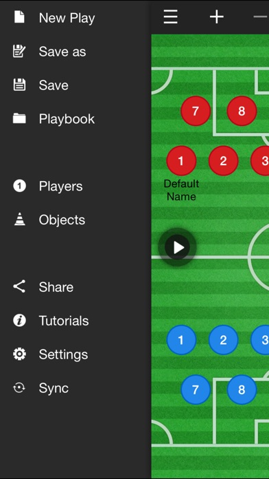 Soccer Coach Clipboard review screenshots