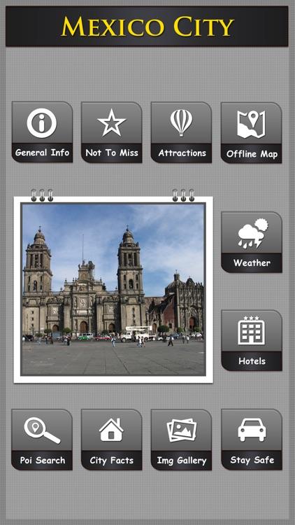 Mexico Offline Map City Guide