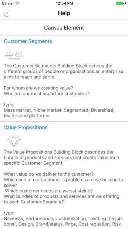 Business Canvas - build your business model screenshot-3