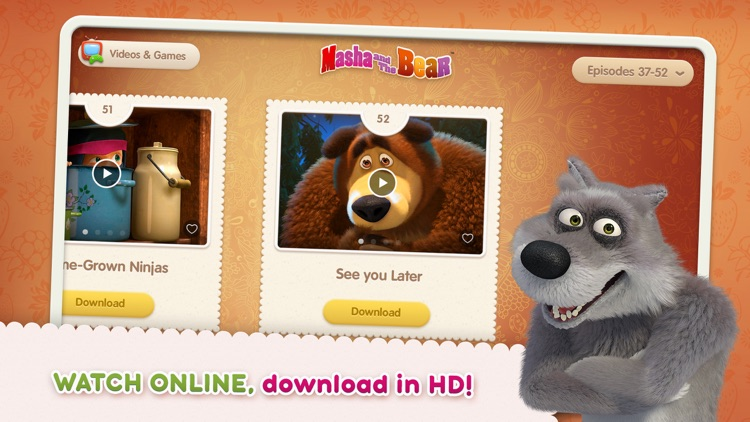 Masha and the Bear see & play screenshot-3