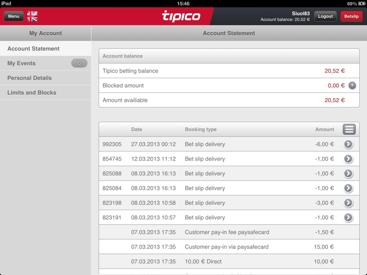 Tipico for iPad screenshot-3