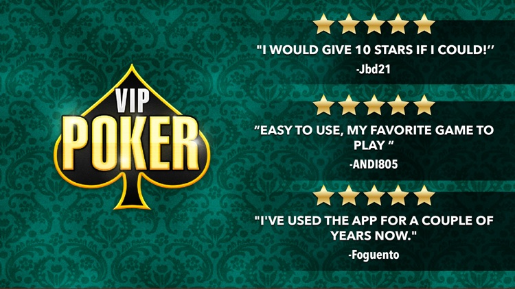 VIP Poker - Texas Holdem No Limit Poker