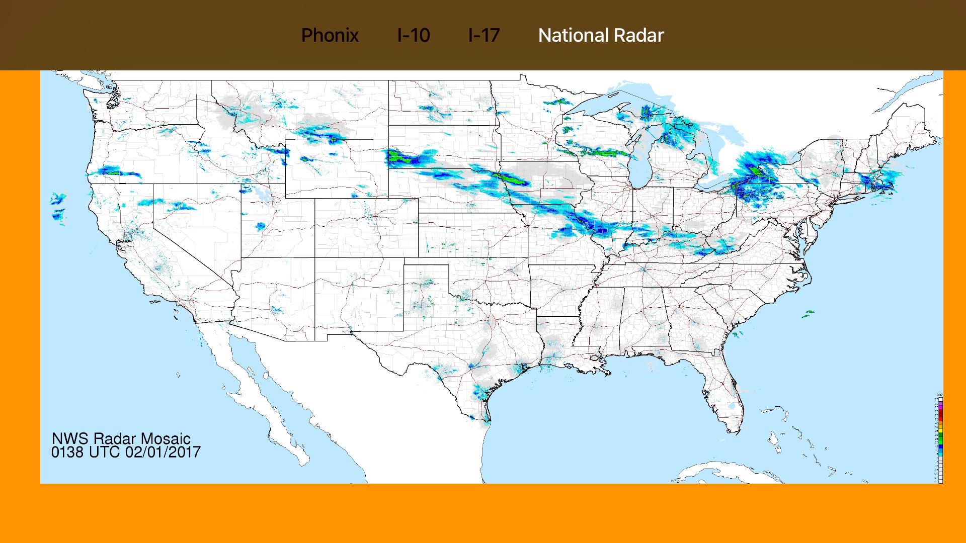 Arizona NOAA Radar with Traffic Camera 3D screenshot 12