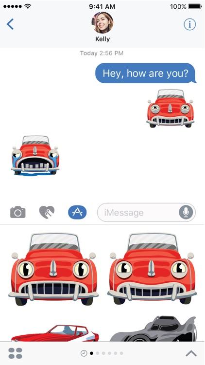 Hot Rod Emoji