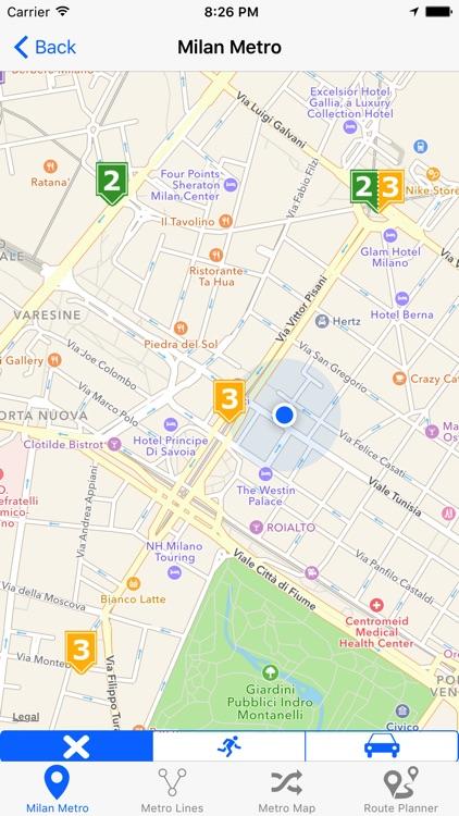 Milan iMetro screenshot-3