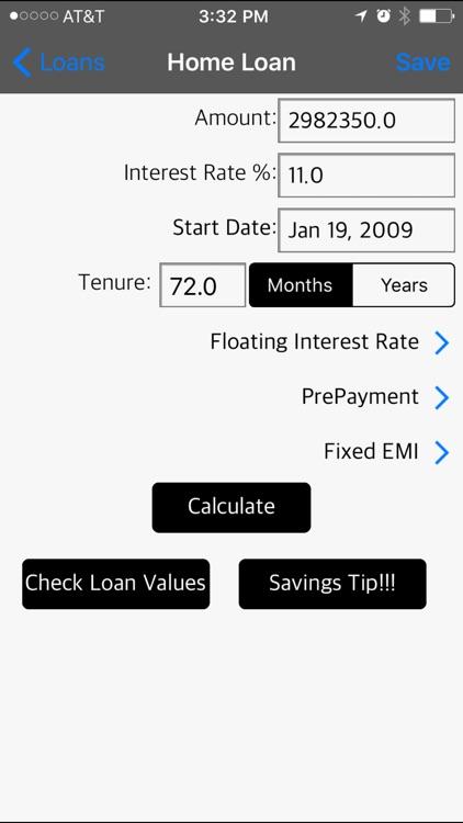 Loan Calculator - Money Saver