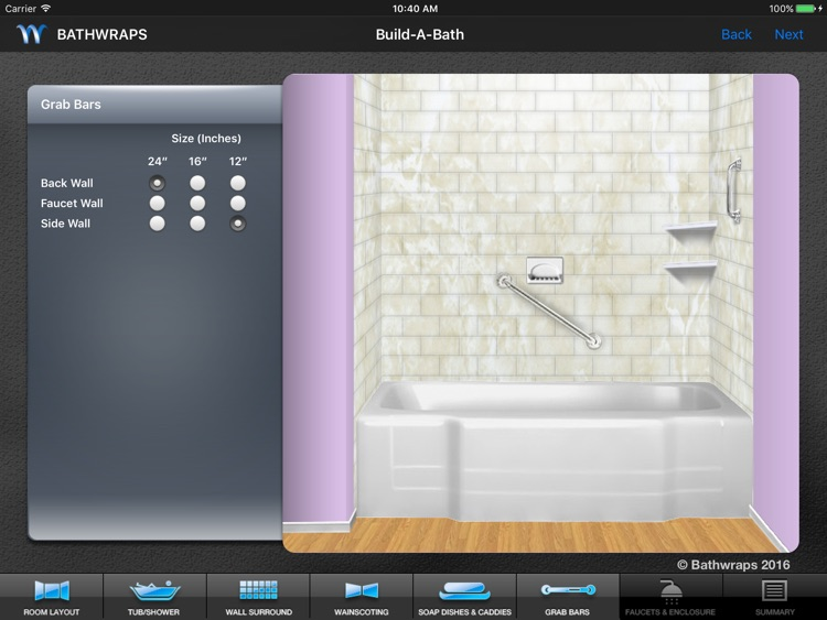 BathWraps Build-A-Bath screenshot-3